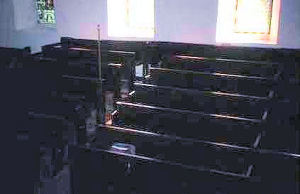 The view of the south side of the nave enjoyed by  those seated in the pews on the north side of the nave.