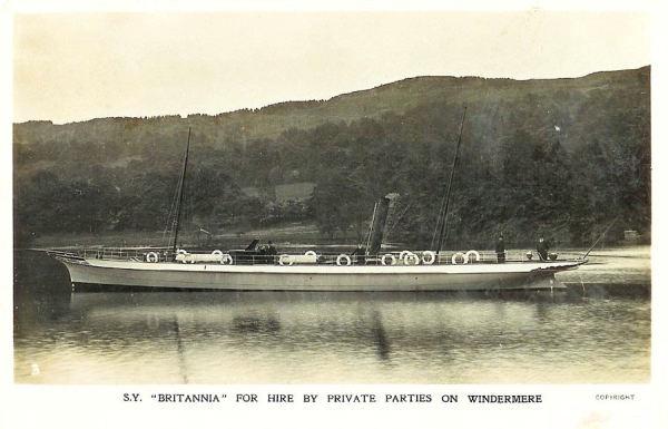 The Steam Yacht Britannia