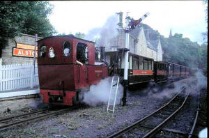 Alston Station (2001), now used by a private railway as tourist attraction