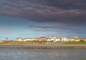 Seascale viewed from the Irish Sea