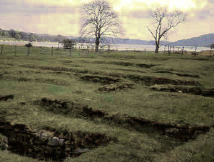 AN AREA OF AMBLESIDE ROMAN FORT