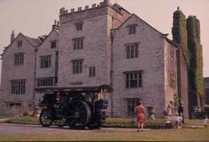 Levens hall photographed in the early 1970